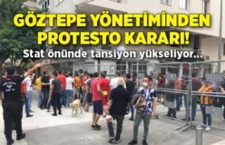 Göztepe yönetiminden protesto kararı!