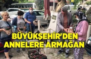 İzmir Büyükşehir Belediyesi'nden annelere...