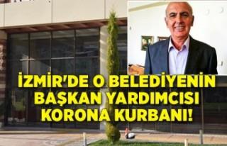 İzmir'de o belediyenin başkan yardımcısı...