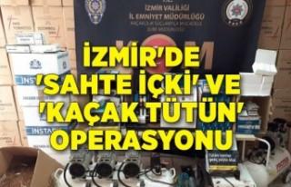 İzmir'de 'sahte içki' ve 'kaçak...