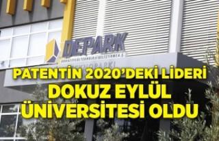 Patentin 2020'deki lideri Dokuz Eylül Üniversitesi...
