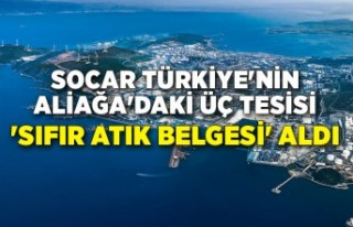 SOCAR Türkiye'nin Aliağa'daki üç tesisi...