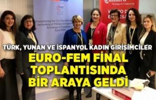 Türk, Yunan ve İspanyol kadın girişimciler bir...