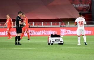 Türkiye Kupası'nda final karşılaşmasının...