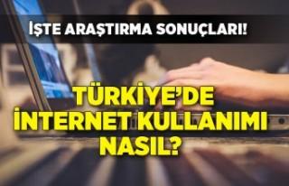 Türkiye'de internet kullanımı nasıl? İşte...