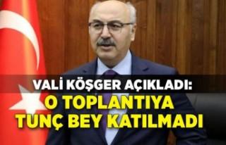 Vali Köşger, 'içki yasağı' için konuştu:...