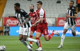 Vodeofone Park'ta Beşiktaş'a şok
