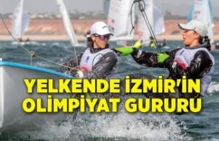 Yelkende İzmir'in olimpiyat gururu