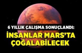 6 yıllık çalışma sonuçlandı: İnsanlar Mars'ta...