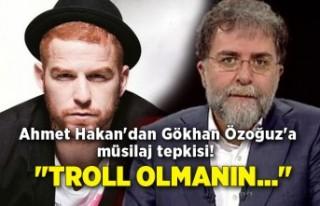 Ahmet Hakan'dan Gökhan Özoğuz'a müsilaj...