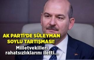 AK Parti'de Süleyman Soylu tartışması! Milletvekilleri...