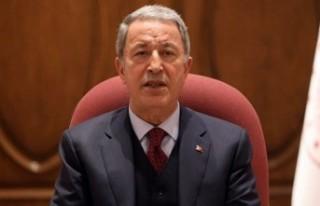 Bakan Akar: Türkiye terörle mücadelede yalnız...