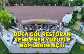 Buca Göl Restoran yenilenen yüzüyle kapılarını...