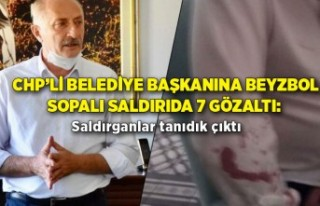 CHP'li belediye başkanına beyzbol sopalı saldırıda...