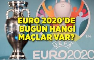 EURO 2020 günün maçları (19 Haziran)