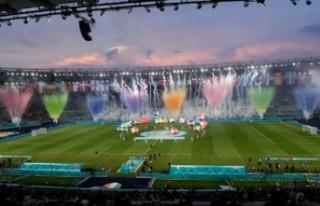 EURO 2020'ye görkemli açılış