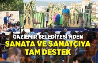 Gaziemir Belediyesi'nden sanata ve sanatçıya...