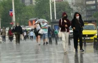 Hafta sonu sağanak yağışa dikkat