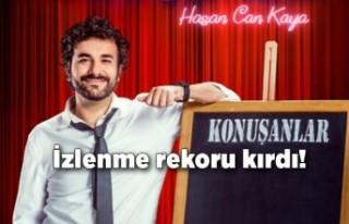 """Hasan Can Kaya, """"Konuşanlar"""" programı ile izlenme..."""