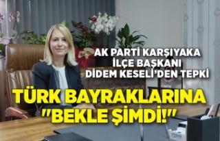 """HDP logosuna """"Hemen şimdi"""" Türk Bayraklarına..."""