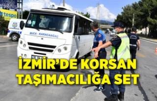 İzmir Büyükşehir Belediyesi'nden korsan taşımacılığa...