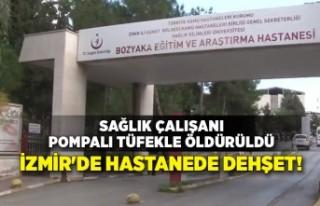 İzmir'de hastanede dehşet! Sağlık çalışanı...
