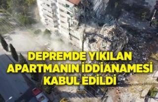 İzmir'deki depremde yıkılan Yılmaz Erbek...