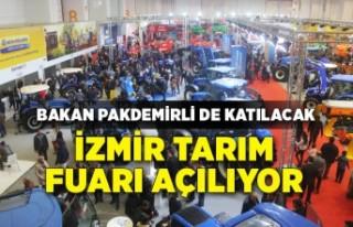 İzmir Tarım Fuarı açılıyor
