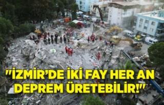 """""""İzmir'de iki fay her an deprem üretebilir!"""""""