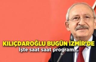Kılıçdaroğlu bugün İzmir'de!
