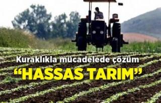 """Kuraklıkla mücadelede çözüm """"hassas tarım"""""""