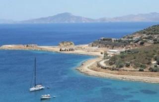 Muğla Datça'da kaçak liman iddiası