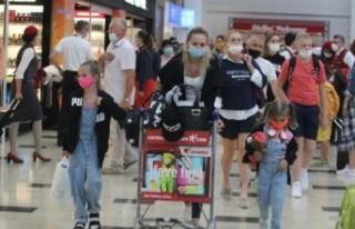 Pandemi nedeniyle turist sayısında büyük düşüş