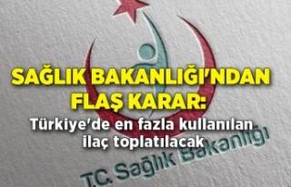 Sağlık Bakanlığı'ndan flaş karar: Türkiye'de...