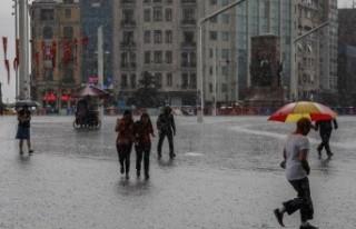 Şemsiyesiz çıkmayın! Sağanak etki alanını genişletti…