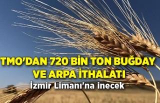 TMO'dan 720 bin ton buğday ve arpa ithalatı
