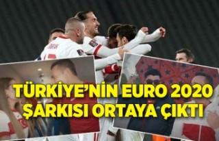 Türkiye'nin EURO 2020 şarkısı ortaya çıktı