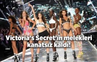 Victoria's Secret'ın melekleri kanatsız...