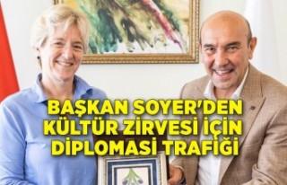 Başkan Soyer'den Kültür Zirvesi için diplomasi...
