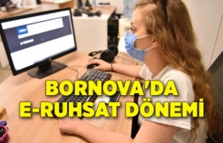 Bornova'da e-Ruhsat dönemi