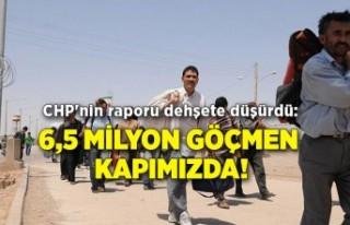 CHP'nin raporu dehşete düşürdü: 6,5 milyon...