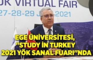 """Ege Üniversitesi, """"Study in Turkey 2021 YÖK..."""