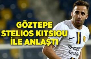 Göztepe Stelios Kitsiou ile anlaştı