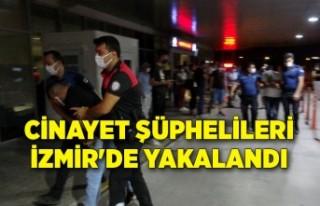 İstanbul'da cinayete karışan şüpheliler,...