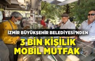 İzmir Büyükşehir Belediyesi'nden 3 bin kişilik...