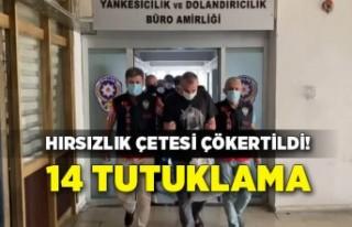 İzmir'de çocuklara hırsızlık yaptıran çete...