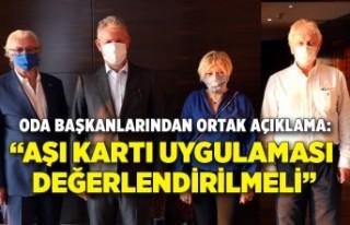 İzmirli oda başkanlarından ortak basın açıklaması