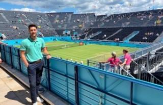 İzmirli tenis hakemi Wimbledon'da Türkiye'nin...