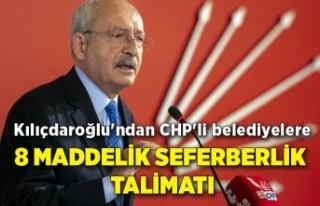 Kılıçdaroğlu'ndan CHP'li belediyelere...