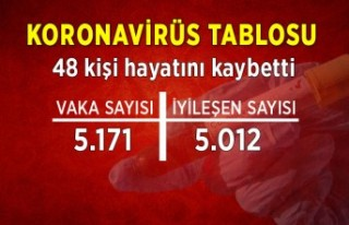 Koronavirüs tablosu (8 Temmuz)